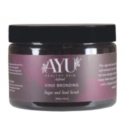 Vino Bronzing Sugar and Seed Scrub (14oz)
